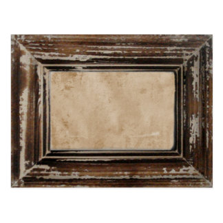Cusomizable Rustic Frame Post Cards