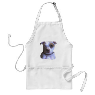 Cusomize Your Own Pit Bull Love Adult Apron