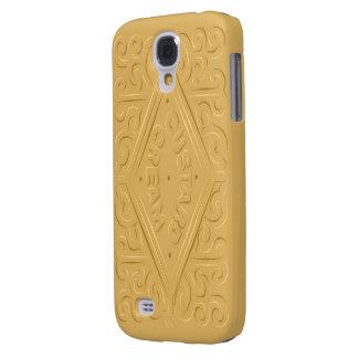Custard Cream S4 Samsung Galaxy S4 Cover