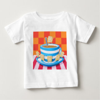 Custard Cream Tea Baby T-Shirt