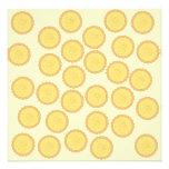 Custard Tart Pattern. Announcements