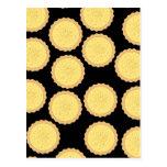 Custard Tart Pattern. Post Cards