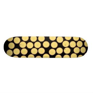 Custard Tart Pattern. Skate Decks