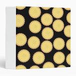 Custard Tart Pattern. Vinyl Binders