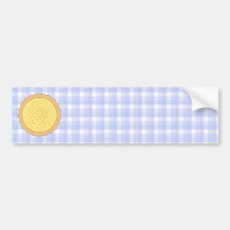 Custard Tart Pie. Bumper Sticker