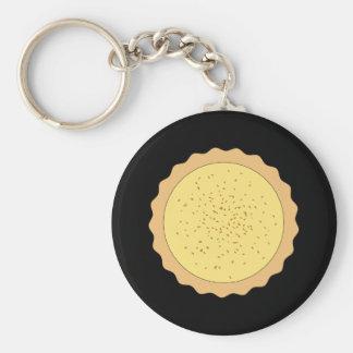 Custard Tart Pie. Keychain
