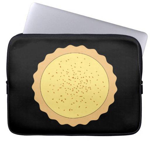Custard Tart Pie. Laptop Computer Sleeves