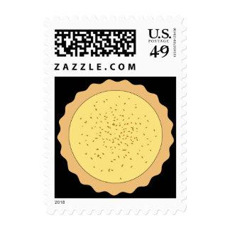 Custard Tart Pie. Stamp