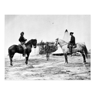 Custer and Pleasanton Postcard