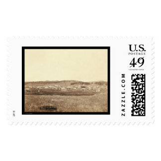 Custer City SD 1891 Postage Stamp