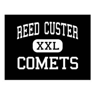 Custer de lámina - cometas - alto - Braidwood Illi Postal