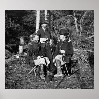 Custer & Friends, 1862 Print