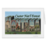 Custer Nat'l Forest, Montana Card