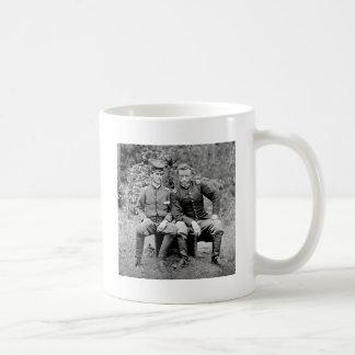 Custer & Prisoner, 1862 Coffee Mug
