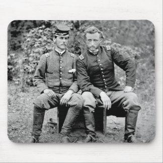 Custer & Prisoner, 1862 Mouse Pad