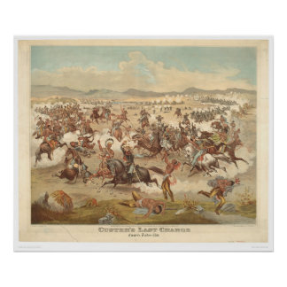 Custer s Last Charge 0481A Posters