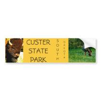 Custer State Park Bumper sticker