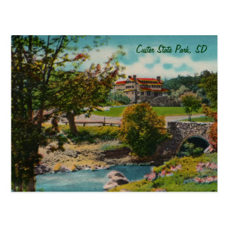 Custer State Park Game Lodge Postcard