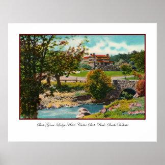 Custer State Park Game Lodge Print