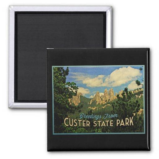 Custer State Park Refrigerator Magnet