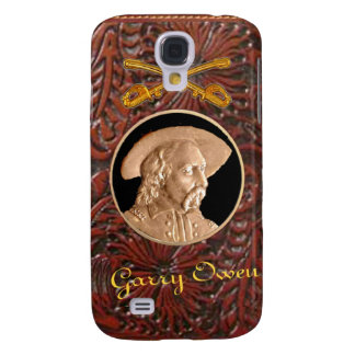 """Custer"" Tooled Leather Western IPhone 3 Case"