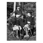Custer y amigos, 1860s postales