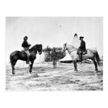 Custer y Pleasanton Tarjeta Postal