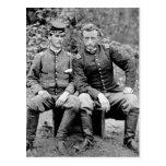 Custer y preso, 1862 tarjetas postales