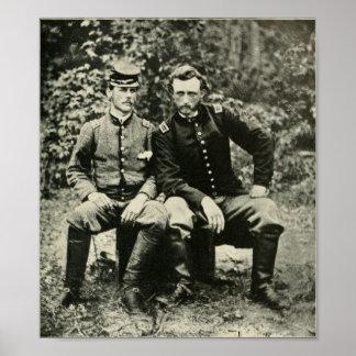 Custer y Washington Póster