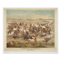 Custer's Last Charge (0481A) print