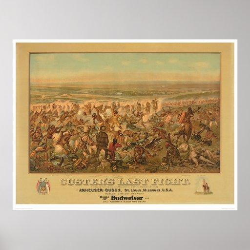 Custer's Last Fight (2610A) Print