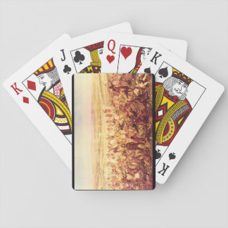 Custer's Last Fight', Unknown_Art of America Playing Cards