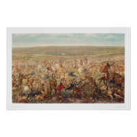 Custer's Last Stand (0482A) print