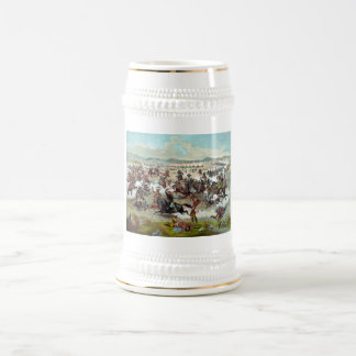 Custer's Last Stand Beer Stein