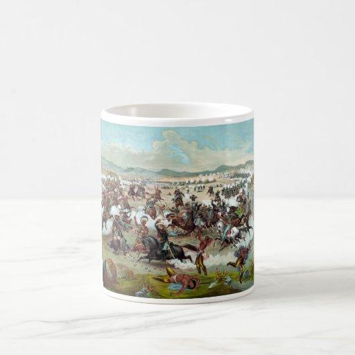 Custer's Last Stand Classic White Coffee Mug