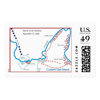 Custer's Last Stand Postage