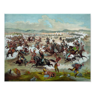 Custer's Last Stand Print