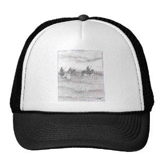Custers last stand trucker hat