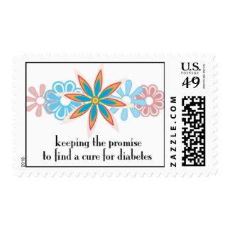 custodia de la promesa timbre postal