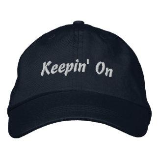 Custodia encendido gorras bordadas