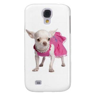 Custodia por el iPhone 3 - chihuahua Funda Para Galaxy S4