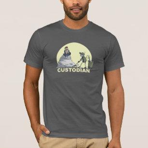 ebc8e429 Custodian T-Shirts - T-Shirt Design & Printing   Zazzle