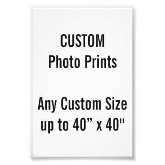 Custom 100x150 mm Photo Print UK Frame Size