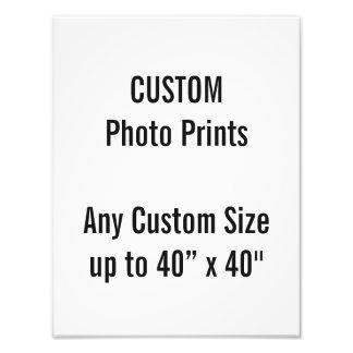 "Custom 10"" × 13"" Photo Print (US Frame Size"