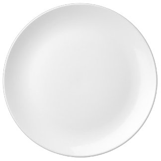 "Custom 10.75"" Decorative Porcelain Plate"