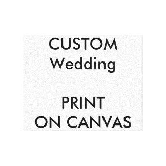 "Custom 10"" x 8"" Wrapped Canvas Wall Art"