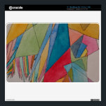 """Custom 11&quot; MacBook Air 11.8 x 7.56 skin w/design<br><div class=""""desc"""">It&#39;s going to look great with my original watercolor abstract design on it.  Colorful and interesting.</div>"""