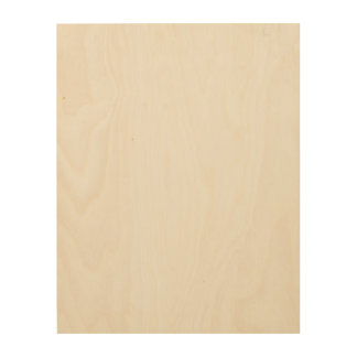 Custom 11x14 Wood Canvas