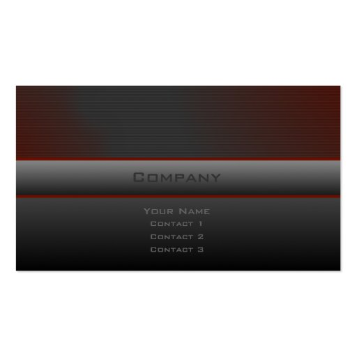 Custom 123 business card