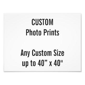 "Custom 12"" × 9"" Photo Print US Frame Size"